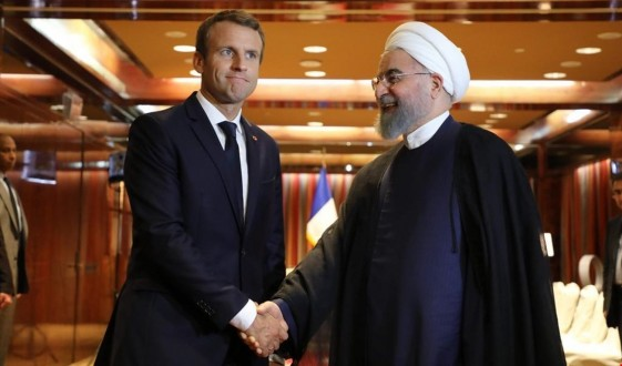 """فرنسا تسعى الى """"تهدئة"""" سياسية بين واشنطن وطهران"""