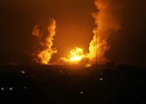 قصف-إسرائيلي-على-قطاع-غزة-أرشيفية