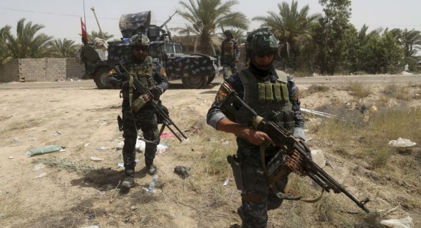 الحشد الشعبي يلقي القبض على إرهابيين شاركا بتفجير سيارة مفخخة