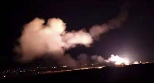 الدفاعات الجوية تتصدى لصواريخ سلاح الجو الإسرائيلي التي هاجمت مجموعة أهداف جنوب شرق دمشق