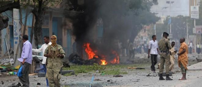 """انفجار في الصومال و """"حركة الشباب"""" تعلن مسؤوليتها"""