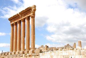 إنتهاء أعمال الترميم لاعمدة معبد جوبيتر…
