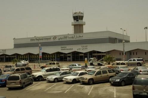 إستهداف مطار أبها بطائرات مسيرة