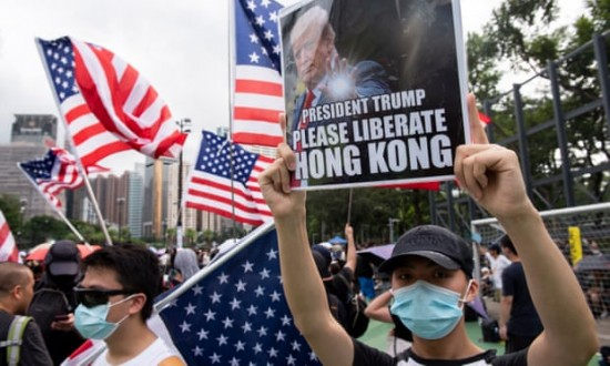 Trump warns 'good man' Xi to treat Hong Kong humanely or risk trade deal