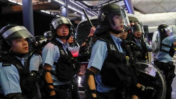 بريطانيا تدين أعمال العنف في هونغ كونغ