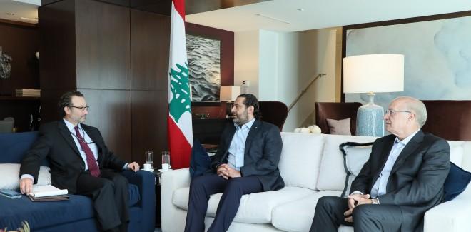 الحريري التقى في واشنطن مساعد وزير الخارجية الاميركية لشؤون الشرق الأدنى