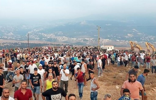 North Lebanon residents protest trash 'parking' area