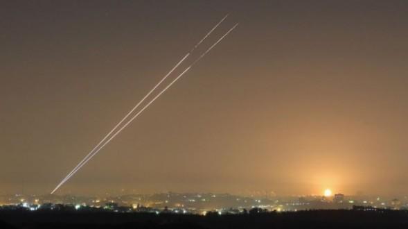 إطلاق صاروخ من غزة باتجاه المستوطنات القريبة من حدود القطاع