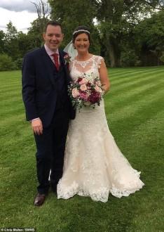 """إسكتلندي """"لم يتعرف"""" على زوجته ليلة الزفاف!"""