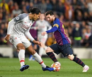 فان دايك: مباراة برشلونة الأفضل بالنسبة لي وإعادتها أفضل مباراة شاهدتها على التلفاز