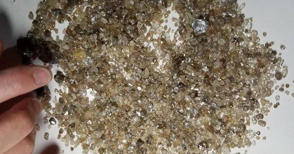 العثور على ألماسات عمرها 4.5 مليار سنة