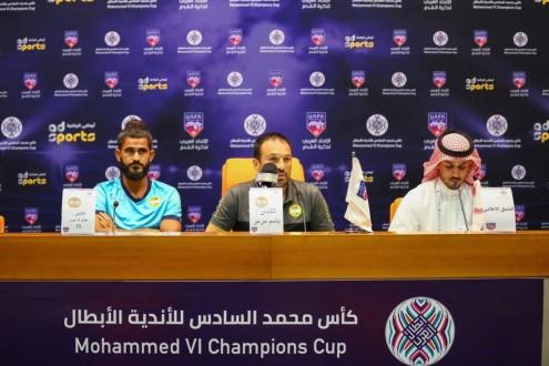 باسم مرمر: منافسنا غير سهل ويملك قاعدة جماهيرية كبيرة سييرا: حماسنا كبير بالمشاركة في البطولة العربية