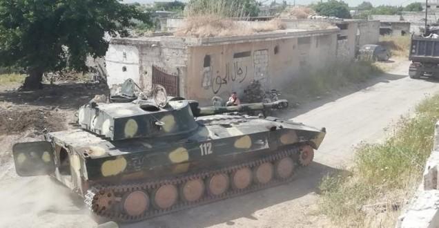 """الجيش السوري يسيطر على الجزء الأكبر من مدينة """"خان شيخون"""""""