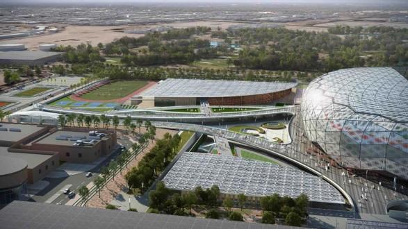 """ملعب """"جوهرة الصحراء"""" القطري يستقبل الجماهير نهاية العام الجاري"""