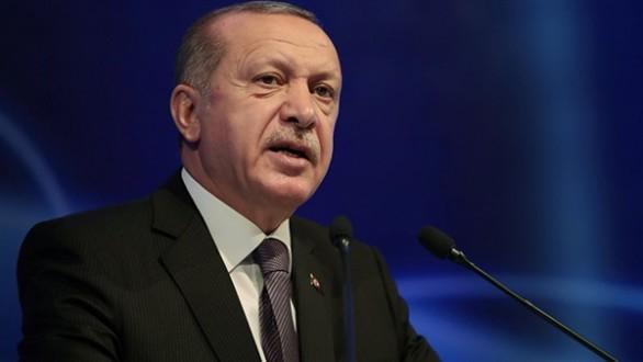 اردوغان يحذر من المساس بحقوق تركيا