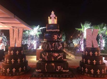 بالصور والفيديو – عيد ميلاد أسطوري لـ وائل كفوري برفقة أصدقائه النجوم