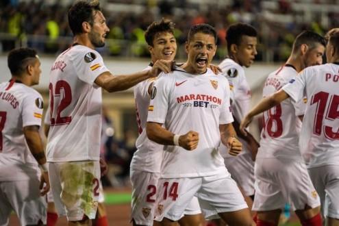 إشبيلية يتخطى كاراباخ في إفتتاح مشواره ضمن الدوري الأوروبي