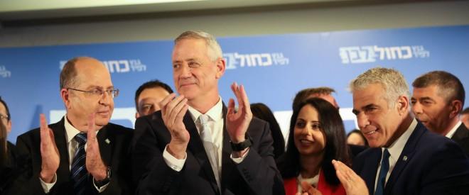 """حزب """"أبيض أزرق"""" يتقدم على """"الليكود"""" بعد فرز 93% من الأصوات"""