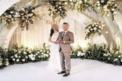 أقام حفلا فاخرا لزفافه واختفى… وشكوى ضد العروس!
