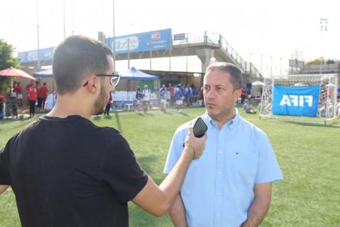 """قبيسي لملحق سبورت: المشروع الذي أطلقه """"الفيفا"""" يدل على ان لبنان موجود على الخارطة العالمية لكرة القدم"""