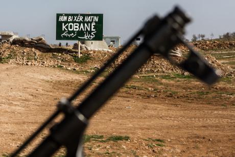 الجيش السوري يتسلم معبر عين العرب على الحدود مع تركيا