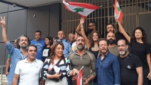فنانون يتلقون صرخة بوجه وزير الاعلام من داخل تلفزيون لبنان