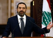 Lebanon's Prime Minister Saad al-Hariri speaks during a news conference in Beirut, Lebanon October 18, 2019. REUTERS/Mohamed Azakir