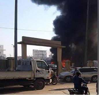 15 ضحية إثر انفجار سيارة مفخخة في مدينة الباب بريف حلب