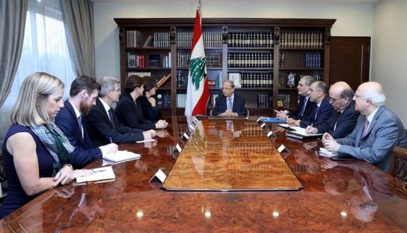 عون يلتقي سفيرتي كندا والنروج والقائم بالأعمال السويسري