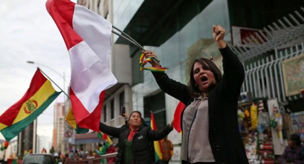 موراليس يتهم الولايات المتحدة بتدبير الانقلاب عليه