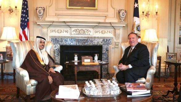 وزير خارجية السعودية يبحث مع بومبيو المستجدات الإقليمية