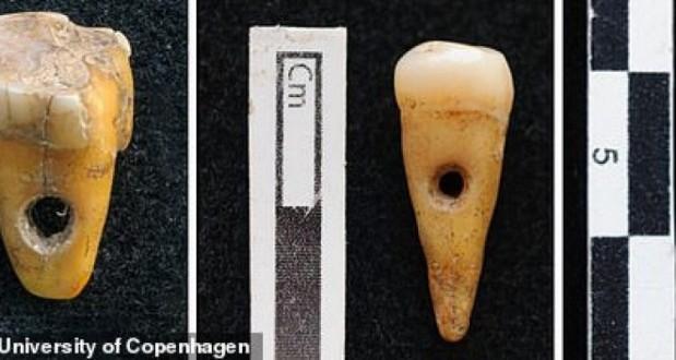 """اكتشاف """"مجوهرات"""" من أسنان بشرية في تركيا!"""