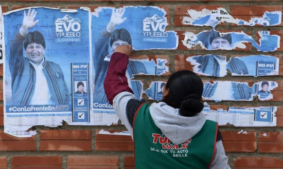 Bolivia's Evo Morales flies to Mexico, but vows to return with 'strength and energy'