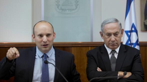 نتيجة بحث الصور عن نتنياهو يتخلى عن منصب وزير الدفاع لصالح زعيم