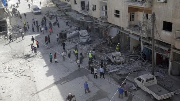 """واشنطن تدين """"القصف الجوي"""" لمنشآت طبية ومدنية في إدلب"""