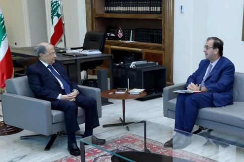 ترامب لعون: الولايات المتحدة الاميركية مستعدة للعمل مع حكومة لبنانية جديدة