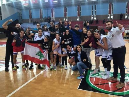 فريق بيروت للسيدات بطلاً للبطولة الأندية العربية