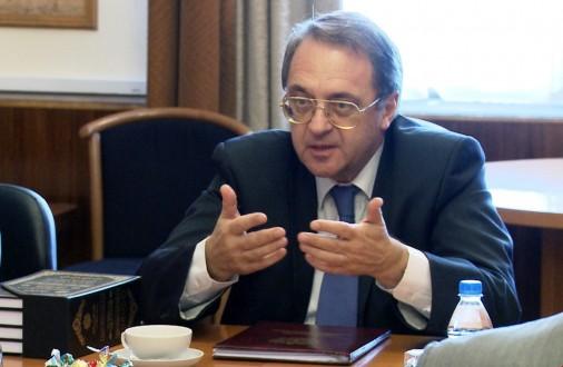 بوغدانوف : إستهداف أراضي دولة ذات سيادة يفضي إلى تصعيد التوتر
