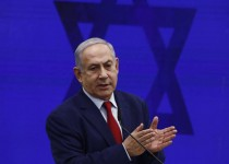 Benjamin Netanyahu, Israel's prime minister, speaks during an event in Tel Aviv, Israel, on Tuesday, Sept. 10, 2019. Netanyahusaid he will annex war-won West Bank territory if he's re-elected, starting with the Jordan Valley. Photographer: Kobi Wolf/Bloomberg via Getty Images
