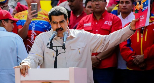 الرئيس الفنزويلي: أفضل الحديث مع الرئيس الأميركي مباشرة
