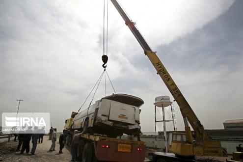 مقتل 19 شخصا إثر سقوط حافلة في واد بشمال إيران