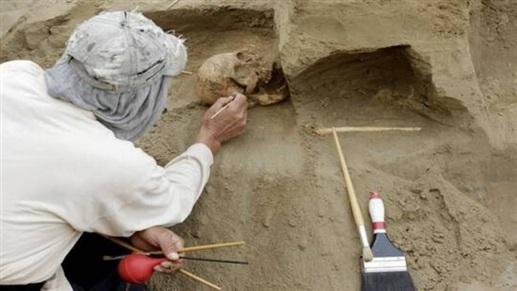 """اكتشاف قبر """"الأمير الغامض"""" للعصر الحديدي في إيطاليا"""