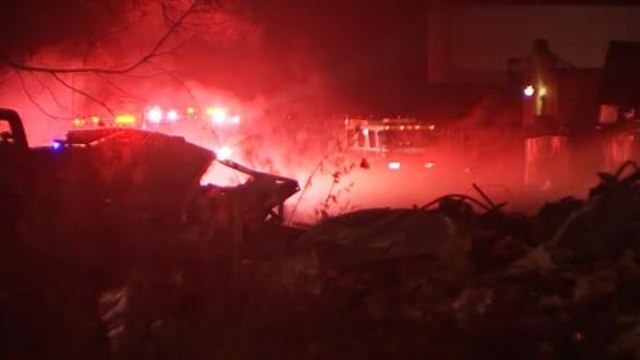 بالفيديو: إنفجار يهز مدينة هيوستن الأميركية.. وأنباء عن وقوع إصابات