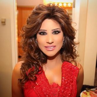 بالصور- من سماء بيروت نجوى كرم تعايد  اللبنانيين بعيد الحب