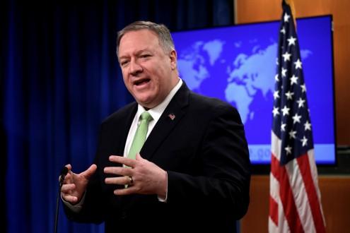 بومبيو: الولايات المتحدة ستواصل شراكتها القوية مع عمان