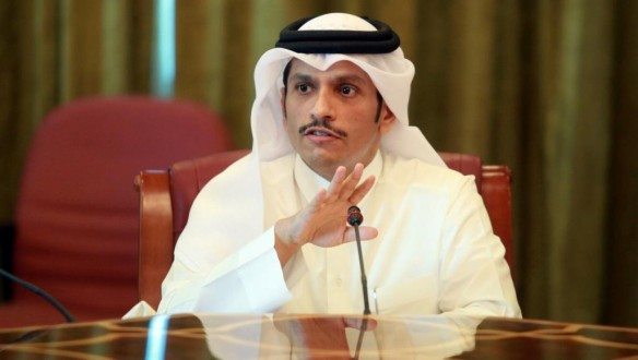 وزير خارجية قطر: الدوحة لم تدعم أي مجموعات إرهابية في سوريا